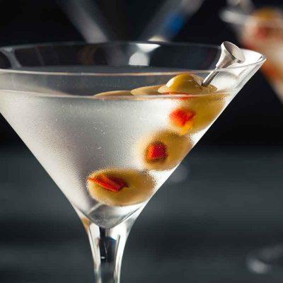 Kokteilis Dry Martini