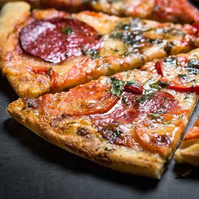 Picas recepte: Salami