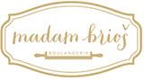 """Kafejnīca """"Madam Brioš"""" Logo"""