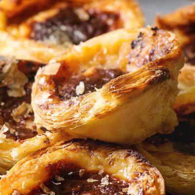 Portugāļu olu krēma kūciņas