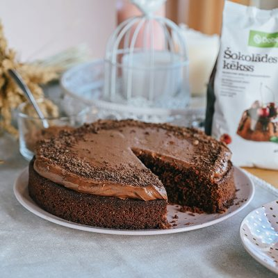 Biešu šokolādes kūka